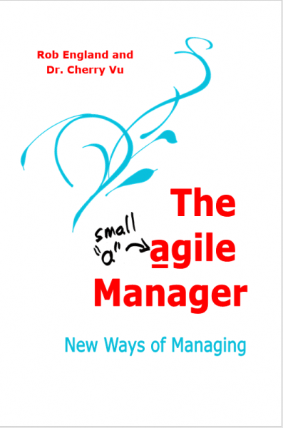 The agile Manager book cover